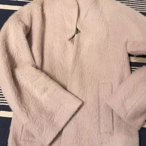 French Connection vintage mohair coat